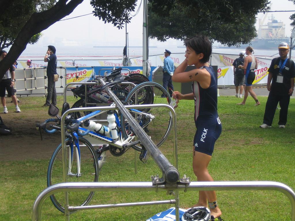 女子トライアスロン世界選手権in横浜
